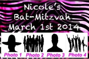 Bat Mitzvah Photo Booth