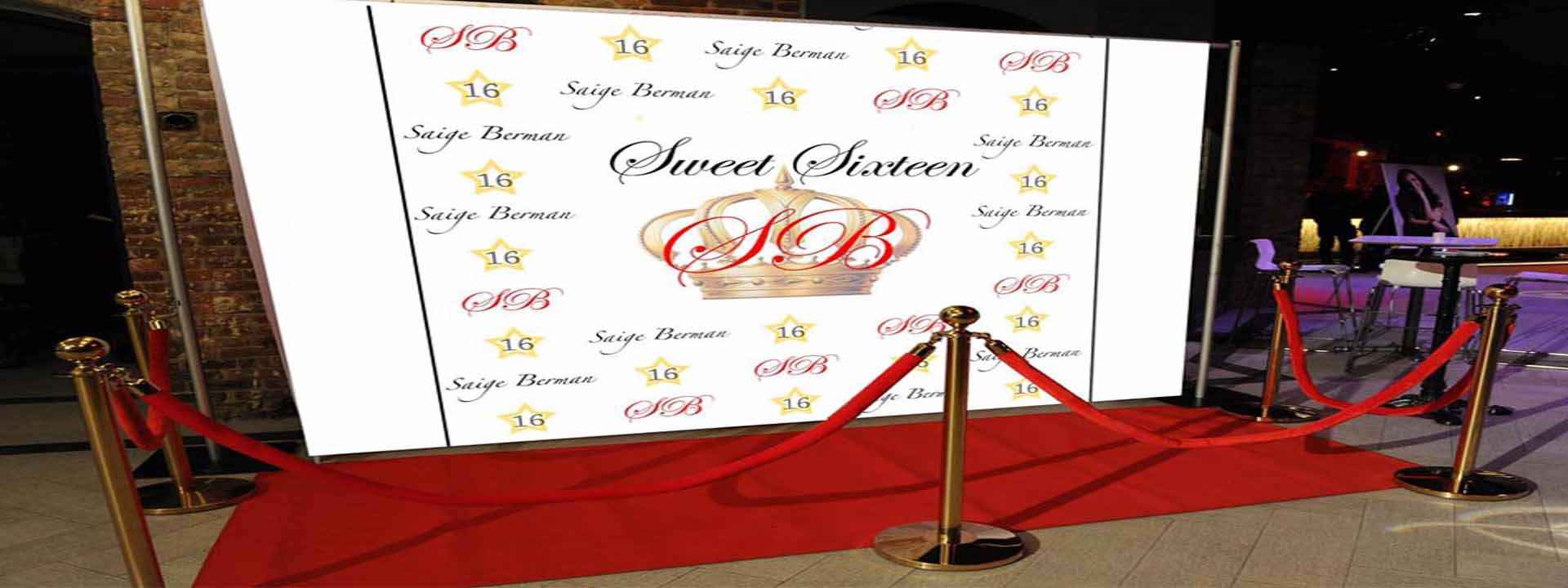 sweet 16 red carpet low